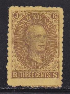 Sarawak Scott # 1 VF-OG previously hinged nice color scv $ 70 ! see pic !