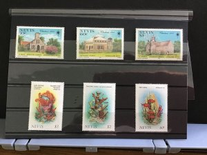 Nevis Buildings and Sea  mint never hinged   stamps R31786