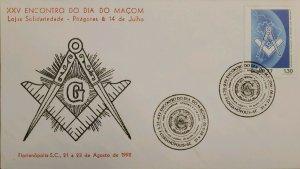 A) 1977, BRAZIL, FREEMASONRY, XXV MEETING OF THE DAY OF THE MASON, SOLIDARITY LO