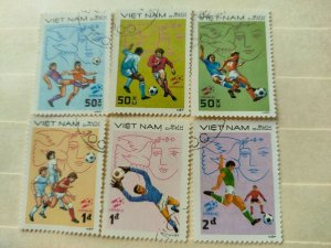 VIETNAM 1982  FOOTBALL WORLD CUP - SPAIN IN FINE MINT CONDITION.
