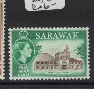 Sarawak SG 211 MNH (4dot)