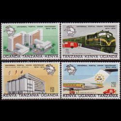 K.U.T. 1974 - Scott# 292-5 UPU Cent. Set of 4 NH