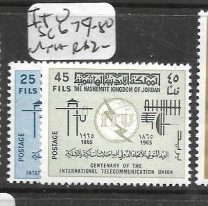 JORDAN (PP2702B)  ITU SG 679-80  MNH