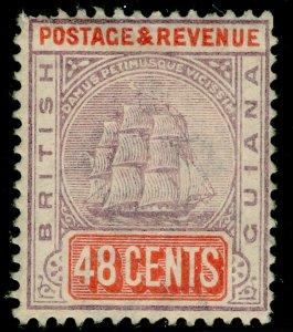BRITISH GUIANA SG202, 48c dull purple & orange-red, M MINT. Cat £38.