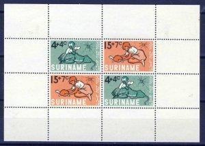 SURINAME 1965 Child Welfare Mini-Sheet SG MS571  MNH