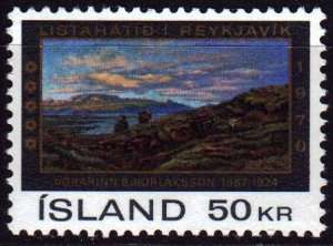 Iceland. 1970. 446. Painting. MNH.