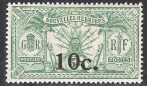 NEW HEBRIDES-FRENCH SCOTT 40