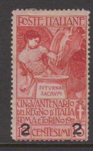 Italy Sc#127 MH