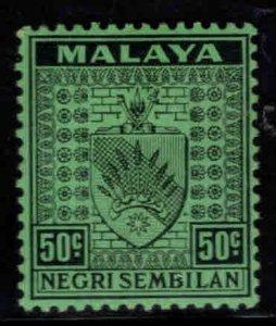 MALAYA Negri Sembilan Scott 32 MH* coat of arms stamp