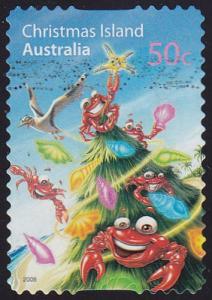 Christmas Island 2008 SG642 Used
