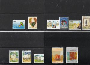 IRELAND MINT NEVER HINGED STAMPS ON 27  STOCK CARDS  REF 1682
