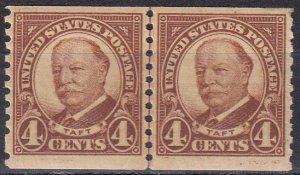 US #687 MNH Joint Line Pair  CV $22.00 (Z6124)