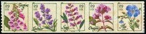 2011 29c Herbs, Coil Strip of 5 Scott 4513-17 Mint F/VF NH
