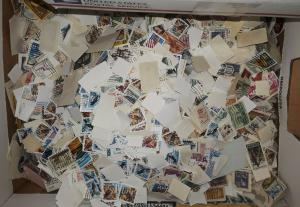 USA Used Stamps / 50 Mixed off paper