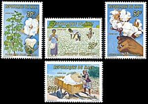 Mali 805-808, MNH, Production of Cotton