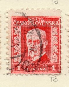 Czechoslovakia 1926-27 Issue Fine Used 1k. NW-148588