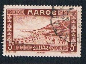 French Morocco 127 Used Roadstead at Agadir (BP13311)