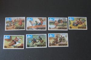 Grenada Sc 644-650 Scouts set MNH