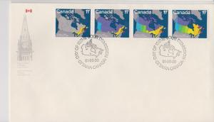 CANADA FDC FOR CANADA DAY 1981 STAMPS #891-893  LOT#M105
