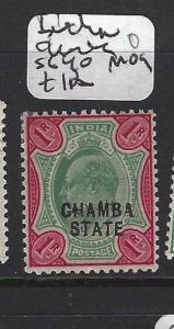 INDIA  CHAMBA   (PP2408B)   KE 1R  SG 40  MOG