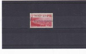 monaco 1930's 2f50 scarlet  stamp cat £30+ ref 11683