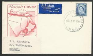 NEW ZEALAND 1959 first flight cover Wellington to Nelson...................58163