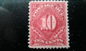 US #J49 mint hinged e193.3836