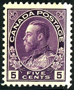 Canada #112 MINT OG NH