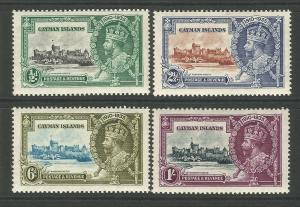 Cayman Islands 1935 KGV Silver Jubilee Pristine unmounted Mint Set Of Stamps