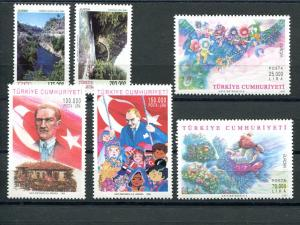 Turkey 1997-,1999 Europa sets VF NH - Lakeshore Philatelics
