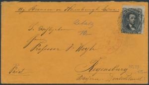 #77 ON COVER GOING TO GERMANY CV $200 BR6549