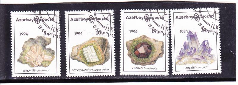 Azerbaijan  Scott#  419-22  CTO