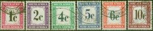 South Africa 1961 P.Due set of 6 SGD45-D50 V.F.U (2)