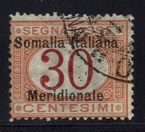 Somalia SC# J4, Used -  Lot 011816