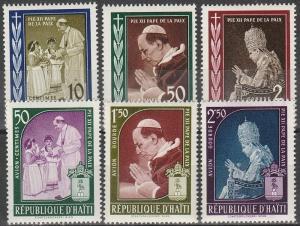 Haiti #444-6, C139-41 MNH F-VF CV $3.45 (V498L)