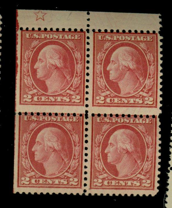 546 MINT Star Block Fine OG NH Cat$920