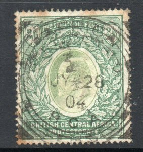 British Central Africa 1903 EDVII 2/6d SG 63 used CV £110