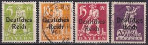 Bavaria #256-9 F-VF Used  CV $6.40  Z402