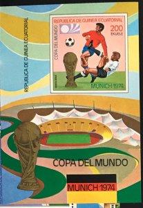 Equatorial Guinea #MiBl96 MNH S/S CV€7.50 FIFA Fußball-Weltmeisterschaft