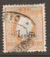 Azores #53a Used