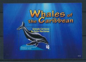 [25982] Grenada 2010 Marine Life Whales MNH