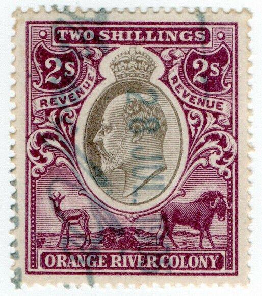 (I.B) Orange River Colony Revenue : Duty Stamp 2/-