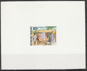 Togo #J69 Deluxe Mini-Sheet  MNH F-VF V $4.00 (V275L)