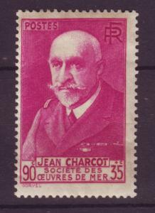 J19440 Jlstamps 1938-9 france mh #b69 charlot