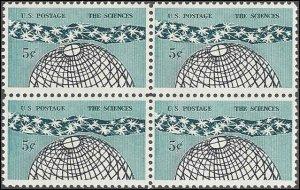 1237 Mint,OG,NH... Block of 4... SCV $1.00