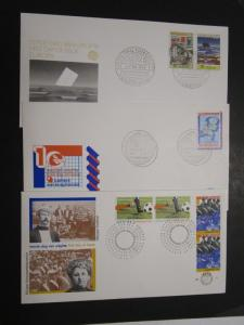 Netherlands 5 NVPH 1970s First Day Covers (I) - M35
