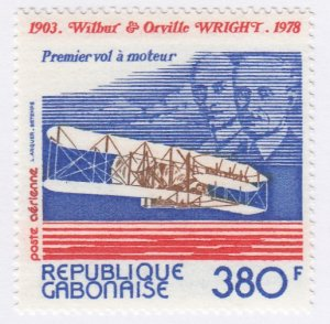 Gabon, Sc C217, MNH, 1978, Wright Brothers