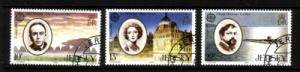 Jersey Sc 353-5 1985 Europa stamp set used