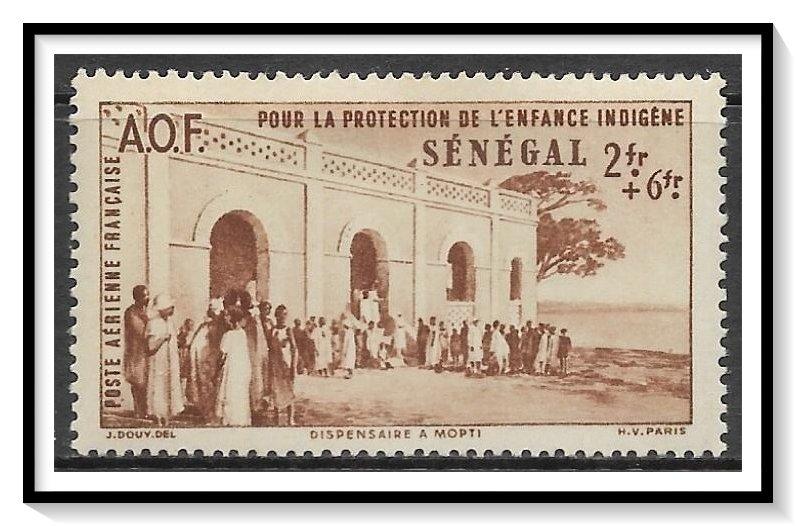 Senegal #CB3 Airmail Semi-Postal MH