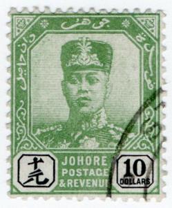 (I.B) Malaya States Revenue : Johore Duty $10